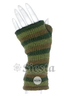 Hippy Gloves~Funky Hippy Green Tones Arm Warmers/Tube Gloves~Fair Trade by Folio Gothic Hippy~NG2W